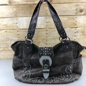 Country Road 66 Western Studed Purse